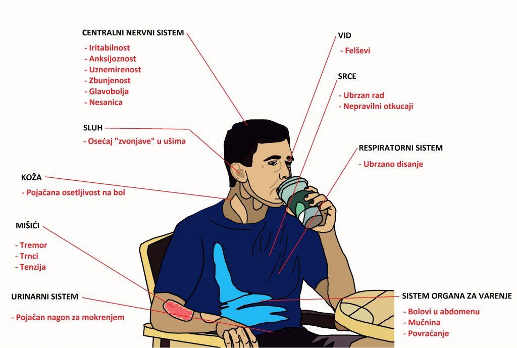 Uticaj kafe na organizam