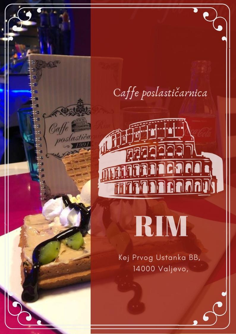 Kafe poslastičarnica Rim