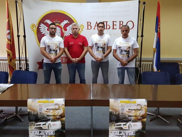 "Valjevski reli – ""Memorijal Miodrag File Stojanac"""