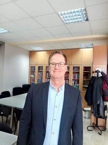 Prof.dr Rob Dejvidson iz Edinburga