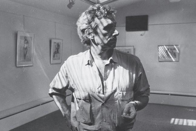 Velickovic-u-Modernoj-galeriji-1986.-Autor-fotografije-Vojislav-Jovanovic